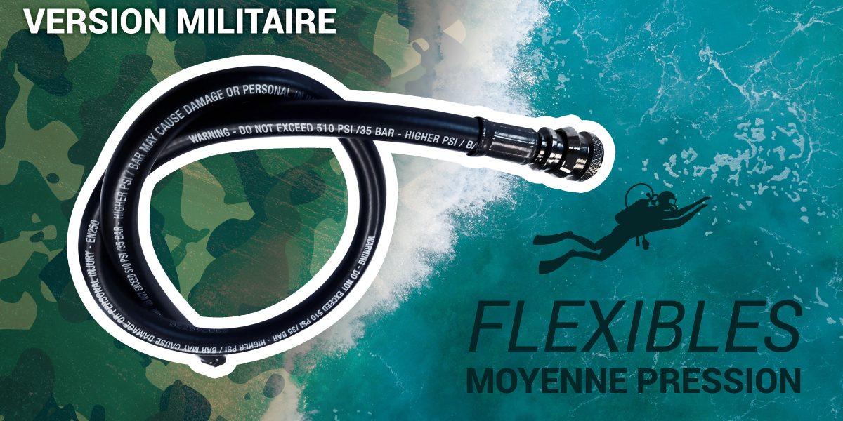 flexibles moyenne pression militaire