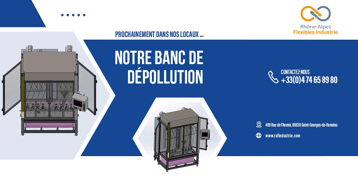 banc de depollution